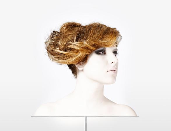 haar opsteken bij Hair by Hylke en Josje